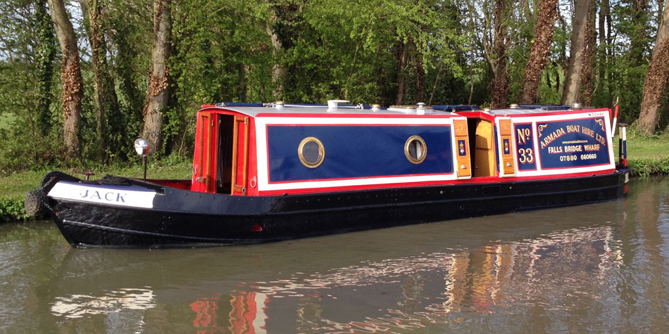 Narrowboat Jack